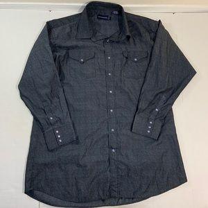 Panhandle Slim Western Pearl Snap Shirt 18 35